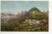 SUISSE SWITZERLAND canton de BERNE BERN Berna Bad GURNIGEL Vue couleur