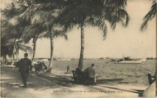 A View Of Biscayne Bay From Bayfront Park, Miami, Florida FL 1936