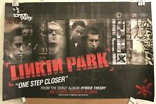"""RARE LINKIN PARK Hybrid Theory 2-sided 11""""x17"""" Pre-Release PROMO POSTER VG COND"""