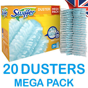Swiffer Fluffy Dusters: 20 Dust Magnet Refills - MEGA PACK - Pledge compatible