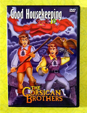 The Corsican Brothers ~ DVD Movie ~ Good Housekeeping 90's Kids Cartoon Video