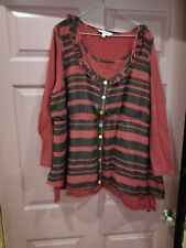 Joe Browns Ladies  Blouse  Size 26 Very Cute !