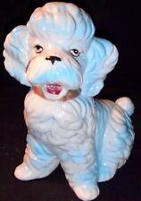 Vintage Poodle Figurine Mid Century Dog Ceramic