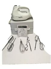 Hamilton Beach 6-Speed Electric Hand Mixer with 4 Attachments, Storage Case
