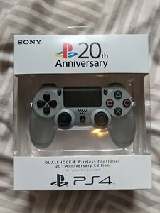 Sony Dualshock Controller 20th Anniversary Edition for PlayStation 4  - Gray