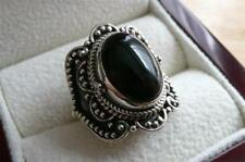 Onyx Solitaire Unbranded Fine Gemstone Rings