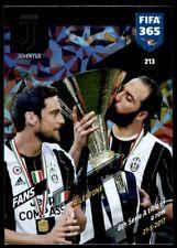 Panini 365 Adrenalyn XL 2018 - Juventus Juventus FANS: Milestone No. 213