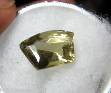 BEAUTIFUL15CT PENTAGON SHAPE  NATURAL LEMON TOPAZ GEM STONE FROM MADAGASKAR