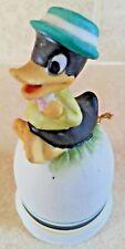 Daffy Duck Ceramic Bell collectible 1979 Rare Original Disney Warner Bros