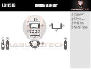 Fits Honda Element 2003-2011 Basic Wood Dash Trim Kit