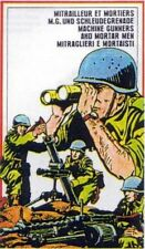 petits soldats 1/72.Atlantic. mortiers et mitrailleuses. 214 pièces. Lot 68MM.