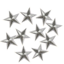 10 Pcs Star Embroidered Garment Applique Sew Iron on Patches Badges Hot