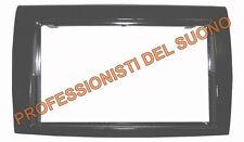 Mascherina radio DOPPIO DIN Fiat Bravo 2007 nero lucido