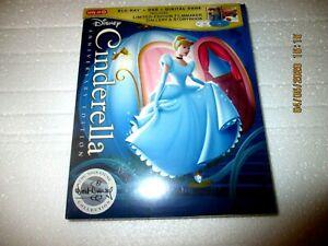 Disney CINDERELLA Target Anniversary Edition (Blu-ray + DVD + Digital Code)
