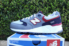 NEW BALANCE 999 SZ 10 LOST WORLDS PACK BLACK GREY RED ML999LW