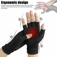 Compression Gloves Arthritis Fit Carpal Tunnel Hand Wrist Brace Support UK