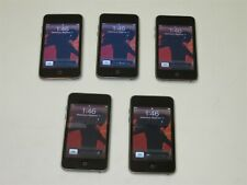Lot of 5 Apple iPod touch (2nd Gen) 8Gb Mp3 Players A1288 No Pwr Cords ~ Reset