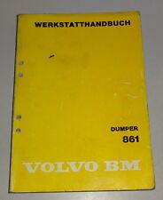 Manual de Taller Volvo Bm Dumper 861 Stand 12/1981