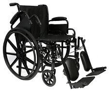 "Pro Basic 20"" Manual Wheelchair, Foldable, Lightweight."