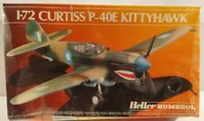 Heller Curtiss P40E Kittyhawk Royal Australian Fighter Aircraft Model Kit 1/72