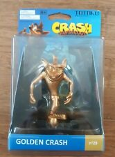 Totaku Collection Golden Crash Bandicoot Gold Figure No 29 Nib Free Shipping