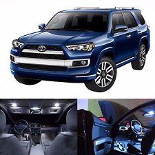 LED White Lights Interior License Kit For Toyota 4Runner 2014-2015 (14 LEDs)