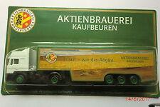 1:87-  MAN-LKW-Truck  Aktienbraueri Kaufbeuren neuwertig. in OVP         Nr.053