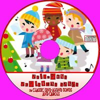 20 FAVOURITE KIDS CHRISTMAS SONGS & CAROLS AUDIO CD CHILD/TODDLER XMAS SINGALONG