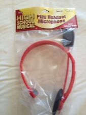 High School Musical Play Headset Microphone New