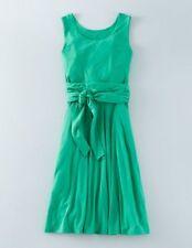 BODEN New Tie Waist Ballet Dress - Viridian Green - UK 8 L
