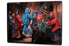 Tin Sign XXL Fantasy Gothic Robot