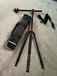K&F Concept SA254T1 Tripod AND Monopod 2 in 1 for DSLR or Mirrorless Cameras