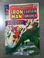 Tales of Suspense #83 FN-VF (1966) Marvel Comics~Iron Man Captain America