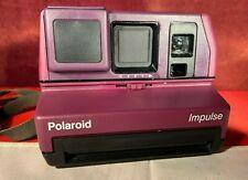 Vintage Polaroid Rare Purple Impulse Instant Film Land Camera. Very Clean Camera