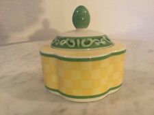 "Vintage Villeroy & Boch ""Switch Summerhouse"" Sugar Bowl And Lid. Germany. Disc."