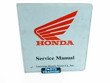 Genuine Honda Dealer Service Manual Binder Grey 7 Ring Atv Scooter Motorcycle (Fits: More than one vehicle)