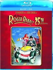 Who Framed Roger Rabbit: 25th Anniversary Edition [Blu-ray + DVD, 2-Disc] NEW
