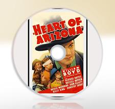 Heart Of Arizona (1938) DVD Classic Western Movie / Film William Boyd