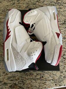Rare Nike Air Jordan Son of Mars Fire Red White Men Size 10.5 DS