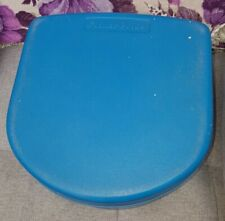 Vintage Fisher Price booster seat Step Toilet Training Sink Blue 1987