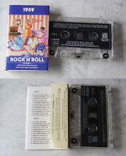 Rock 'n' roll era 1959... 24 ORIGINALE-Hits Time Life MC TOP