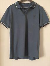Brand New Firetrap blue polo t-shirt for men - size Medium