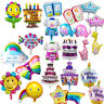 Blue Pink Helium Foil Balloon Birthday Party Decoration Baby Shower Boy Girl UK