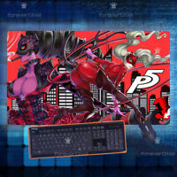 Hot Game persona 5 Otaku Keyboard GAME Mouse Pad Table Play Mat Gift 70*40cm#16