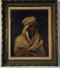 20TH CENTURY PAINTING PORTRAIT OF AN ARAB BY CORBEAU