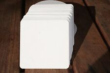 Blank Beermat Coaster Board Square x 50 for Weddings and Parties (Craft)