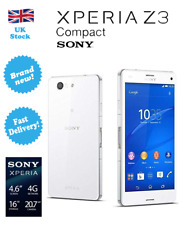 NEW Sony Xperia Z3 Compact D5803 Camera 20.7MP RAM 2GB Unlocked Smartphone White