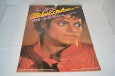 MICHAEL JACKSON OFFICIAL 1985 CALENDAR