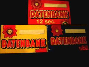 - Datenbank - Datenbanken -DBs ADP Merkur freie Auswahl - AT DBs  im Austausch -