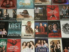 TV Series Trading Cards:  Walking Dead, Charmed, Smallville, Fringe, Alias, Xena